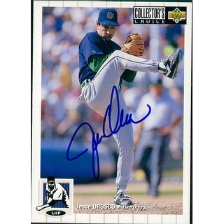 Signed Orosco Jesse Milwaukee Brewers 1994 Upper Deck Baseball Card autographed