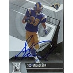 Steven Jackson St Louis Rams 2006 Donruss Elite Autographed Card Nice Card This item comes with a