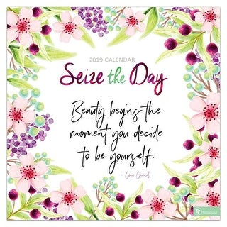 2019 Seize the Day 2019 Wall Calendar, Motivation by TF Publishing