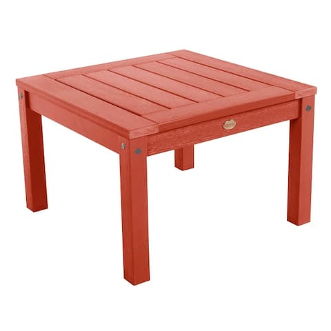 Mandalay Eco-friendly Marine-grade Synthetic Wood Side Table by Havenside Home