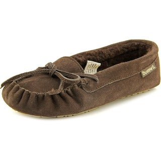 Bearpaw Astrid Women Round Toe Suede Brown Slipper