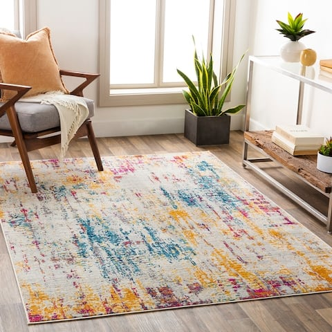 Nelson Vibrant Abstract Area Rug