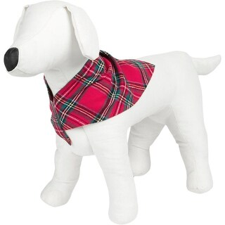 Family PJs Dog Costume Plaid Holiday
