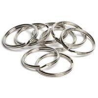 "Silver Split Rings 1"" - Jewelry Basics Metal Findings 15/Pkg"