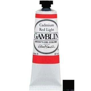 Gamblin G1212 37ml Artists Grade Oil Color - Chromatic Black