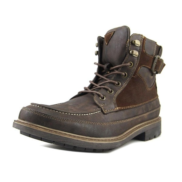 Madden Men Noal Men Round Toe Synthetic Brown Ankle Boot