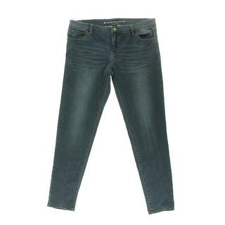 Celebrity Pink Womens Juniors Mid-Rise Five Pocket Skinny Jeans - 7