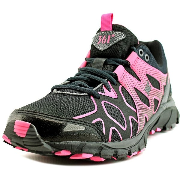 361 Ascent Women Night/Castlerock/Azalea Pink Running Shoes