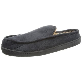 Isotoner Mens Heel Cradle Arch Support Moccasin Slippers