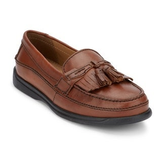 dockers mens sinclair leather dress casual tassel loafer