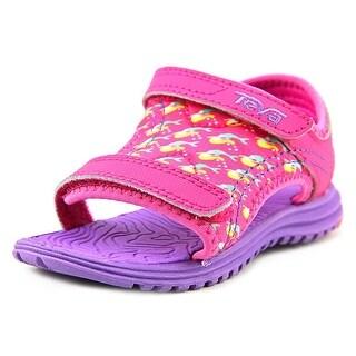 Teva T Psyclone 5 Youth Open-Toe Canvas Pink Sport Sandal
