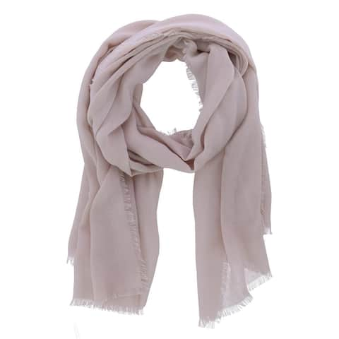 David & Young Women's Solid Color Lightweight Scarf - one size
