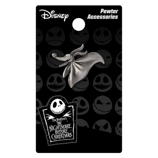 Nightmare Before Christmas Pewter Lapel Pin Zero