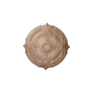 "Ekena Millwork CMW20ACRO 20"" Wide Carved Red Oak Acanthus Leaf Ceiling Medallion"
