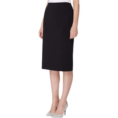 Tahari ASL Womens Pencil Skirt Knee-Length Professional