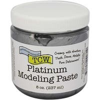 Platinum - Crafter's Workshop Modeling Paste 8Oz