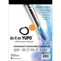 """Yupo Paper 5""""X7"""" 15 Sheets/Pkg-Translucent 104lb"""