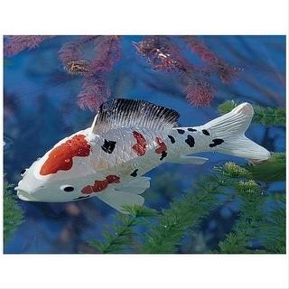 Design Toscano Japanese Floating Koi Sculpture: Medium