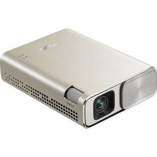 Asus - Zenbeam Go E1z Dlp Projector,3500:1 Dcr,150 Lumens (Ac In),Wvga (854X480),30,000