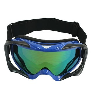 Unique Bargains Outdoor Camping Winter Wearing Protecting Eye Tinted Lens Ski Goggles