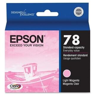 Epson Claria Hi-Definition 78 Standard-capacity Inkjet Cartridge Light Magenta (T078620) - light magenta