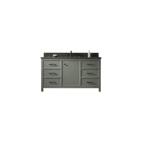 """Legion Furniture 60"""" PEWTER GREEN SINGLE SINK VANITY WLF2160S-PG"""