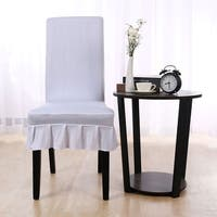 Stretch Spandex Short Dining Room Chair Covers
