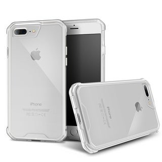 rooCASE PLEXIS iPhone 7 Plus Hybrid PC TPU Case Cover for Apple iPhone 7 Plus 5.5, Crystal Clear
