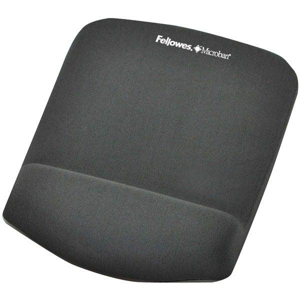 Fellowes 9252201 Plushtouch(Tm) Mouse Pad Wrist Rest With Foamfusion(Tm)