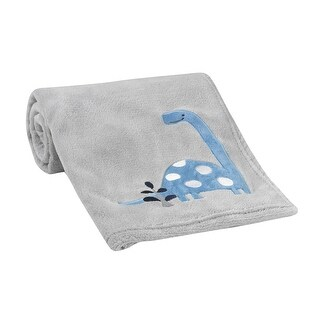 Bedtime Originals Gray Roar Blanket