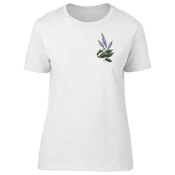 9399360ed Shop Peppermint Watercolor Tee Women's -Image by Shutterstock - Free  Shipping On Orders Over $45 - Overstock - 22255609