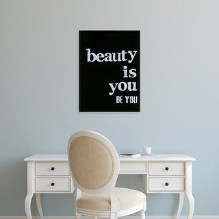Easy Art Prints Deborah Velasquez's 'Be Beautiful IV' Premium Canvas Art