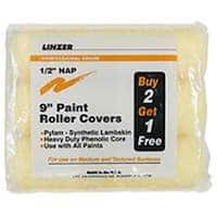 Linzer RS1443 Paint Roller Cover Set 9""