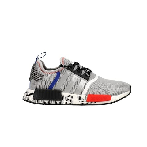 adidas Nmd_R1 Lace Up Kids Boys Sneakers Shoes Casual - Grey