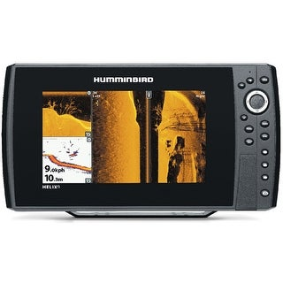 Humminbird Helix 9 SI Super Bright Color TFT Display Fishfinder With Transducer