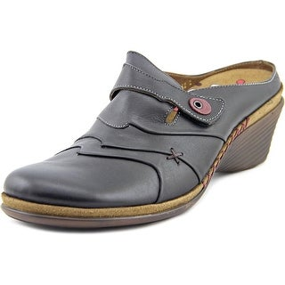 Romika Nahla 02 Women Round Toe Leather Clogs