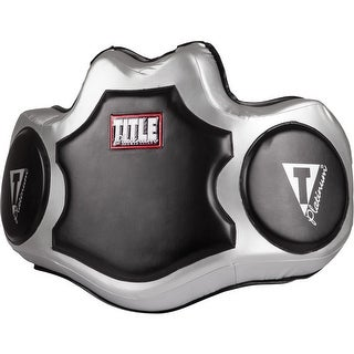 Title Boxing Platinum Body Protector - Black/Silver