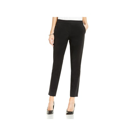 Vince Camuto Womens Ankle Pants Straight Leg Crop