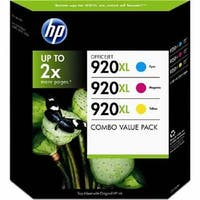 HP 920XL 3-Pack High Yield Colors  D8J64BN - N/A