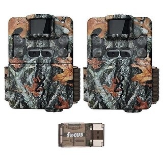 Browning Strike Force Pro XD Dual Lens Trail Camera (2) with USB Card Reader - Camouflage