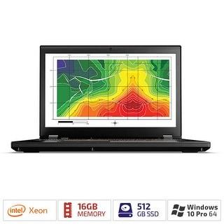 "Lenovo ThinkPad P51 20HH000UUS with 15.6"" HD LED Backlight/512 GB SSD & 16GB RAM"