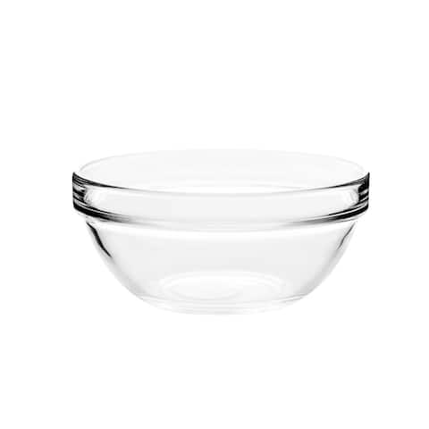 "Luminarc Empilable Large 11.4"" Glass Salad Bowl"