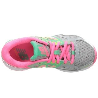 New Balance Girls kr680gky Low Top Lace Up Running Sneaker - 11.5 m
