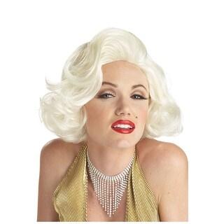 Classic Marilyn Costume Wig