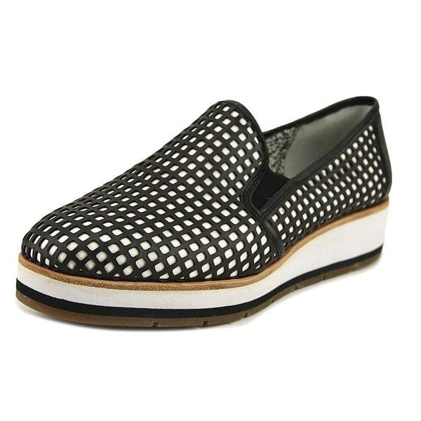 ED Ellen DeGeneres Osbourn Women Round Toe Synthetic Black Loafer