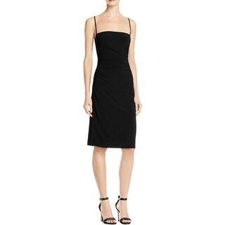 Laundry by Shelli Segal Womens Cocktail Dress Ruched Cut-Out