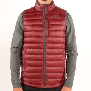 Men'S Storm Coldgear Infrared Turing Vest Deep Red/Stealth Gray