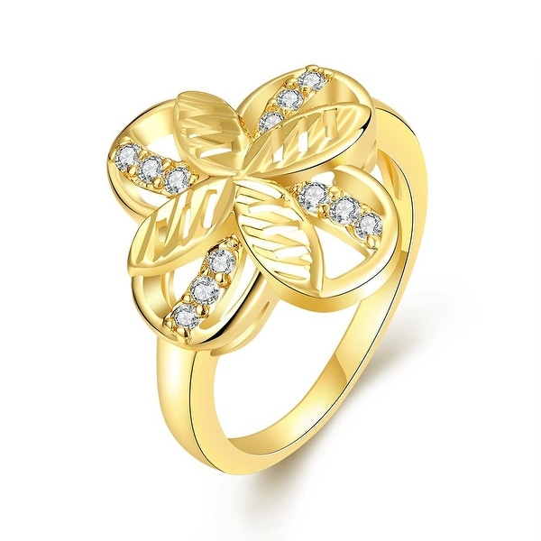 Mini Butterfly Gold Hollow Ring