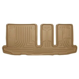 Husky Weatherbeater 2014-2015 Infiniti QX60 3rd Row Tan Rear Floor Mats/Liners