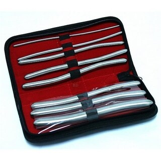 10321 Set Hegar Uterine Dilator with A Carrying Case